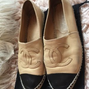 Authentic Chanel espadrilles, good condition!